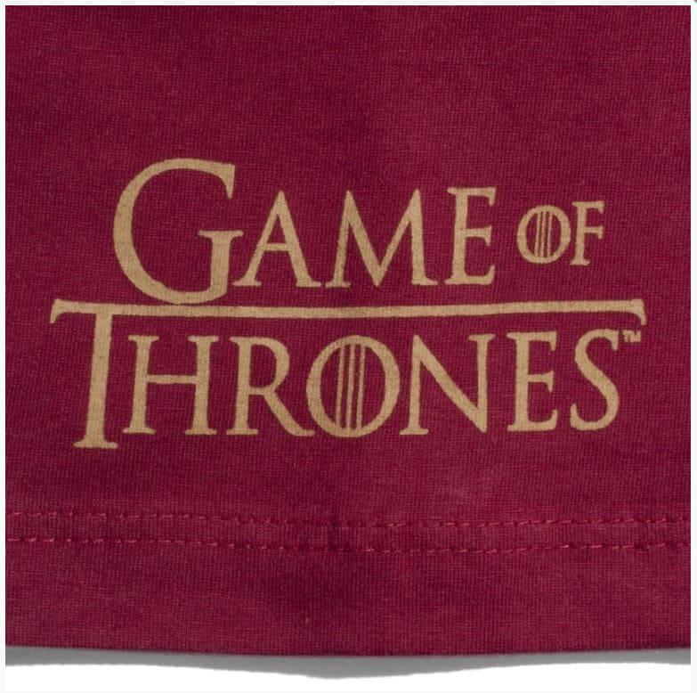 Camiseta Game of Thrones Casa Lannister