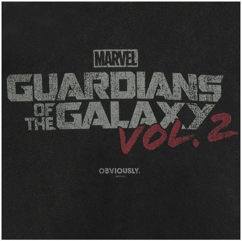 Camiseta Guardiões da Galáxia Vol,2 Logo