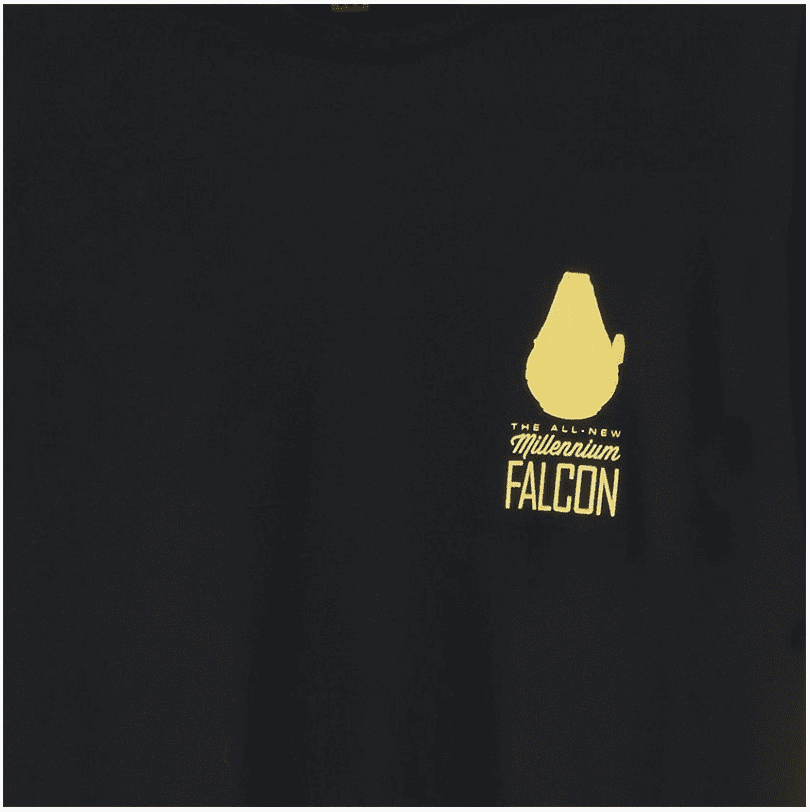Camiseta Han Solo - The All New Millennium Falcon