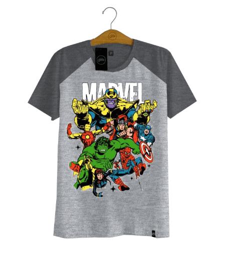 Camiseta Marvel Classic Infinity War