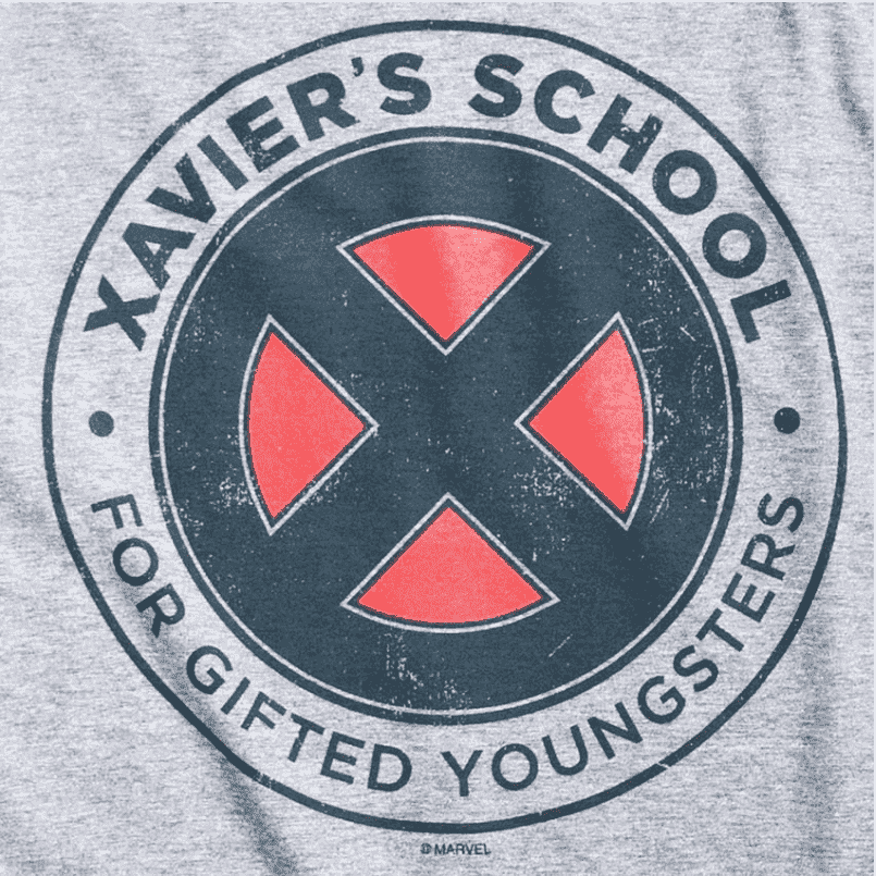 Camiseta Marvel Xavier's School