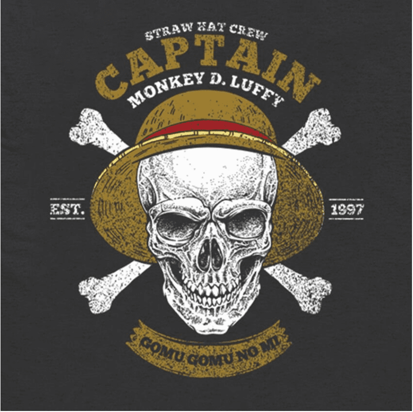 Camiseta One Piece Monkey D, Luffy