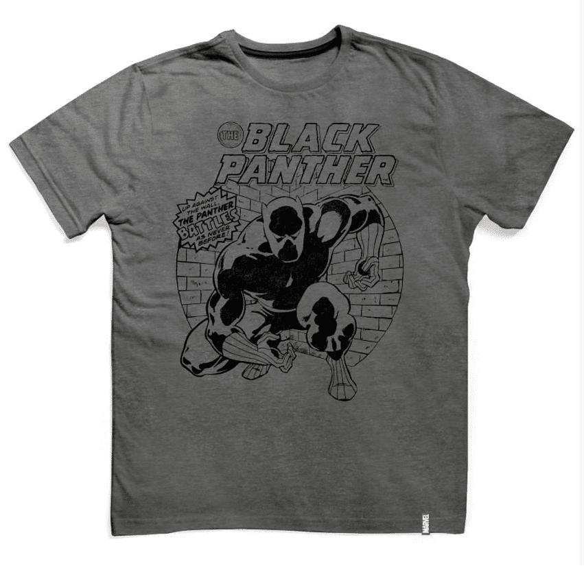 Camiseta Pantera Negra Vintage