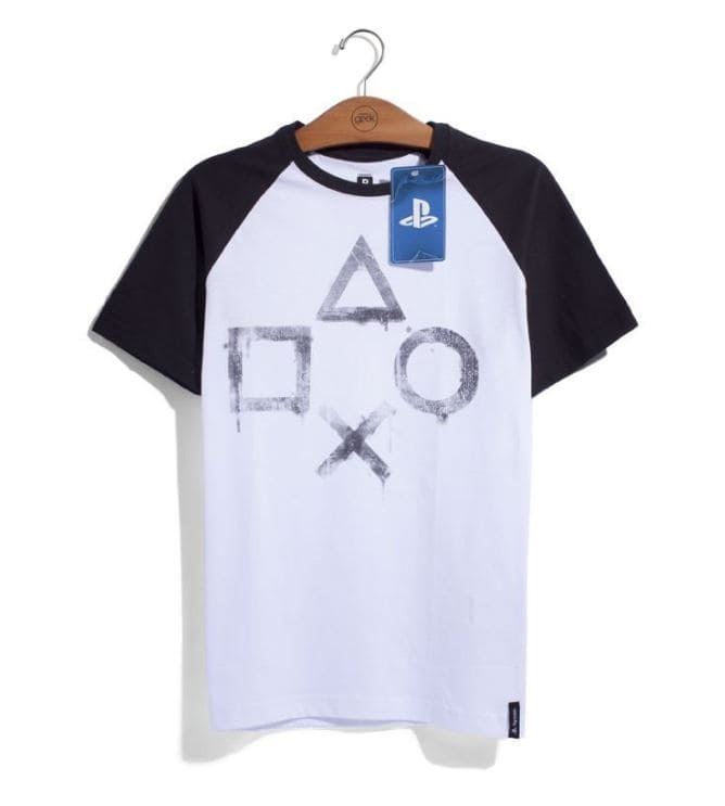 Camiseta Playstation Street Art