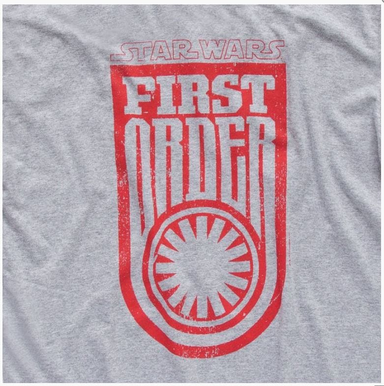 Camiseta Star Wars First Order