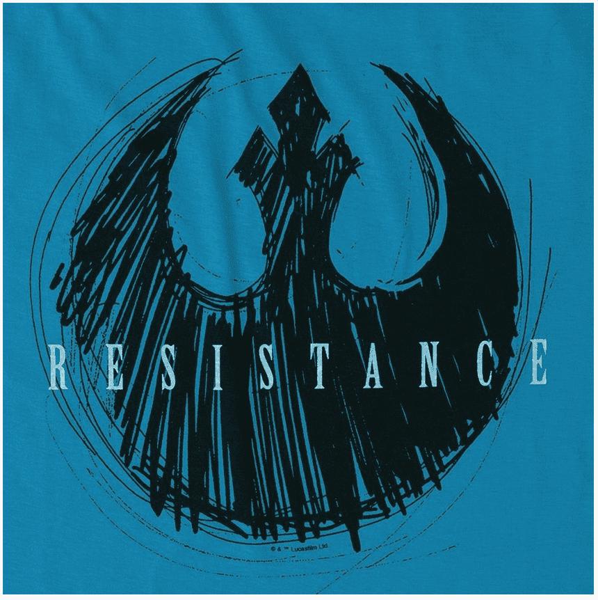 Camiseta Star Wars Resistance Sketch