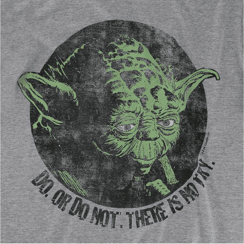 Camiseta Star Wars Yoda Do or Do Not