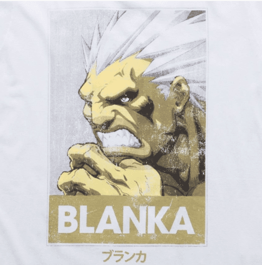 Camiseta Street Fighter Blanka