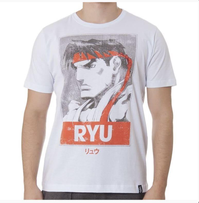 Camiseta Street Fighter Ryu