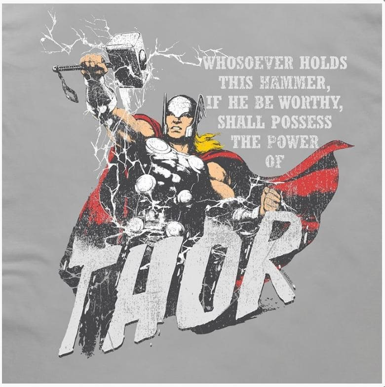 Camiseta Thor Deus do Trovão