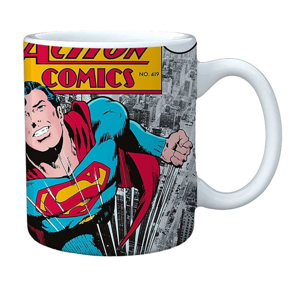 Caneca DC Superman Action Comics