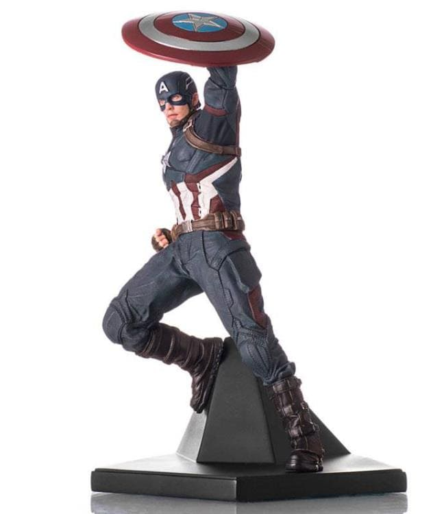 Captain America Iron Studios 1:10 - Captain America: Civil War