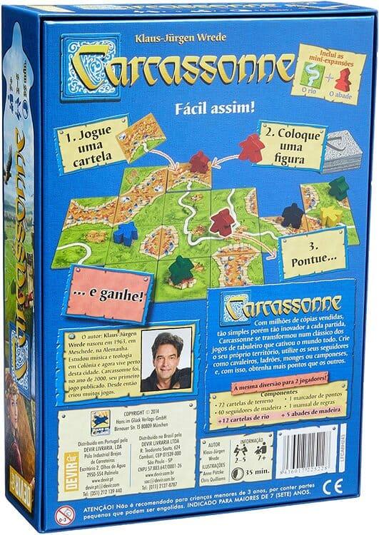 Carcassonne - 2a edição