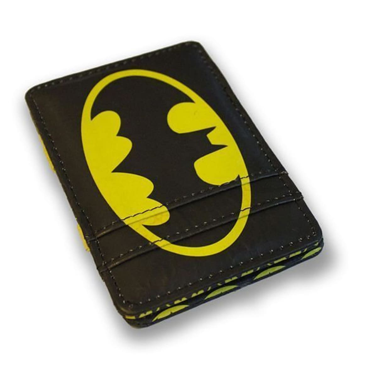 Carteira DC - Batman Logo Preto e Amarelo