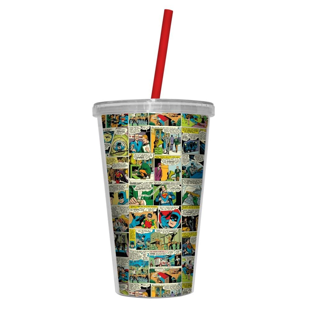 Copo Plastico DC Comics Quadrinhos