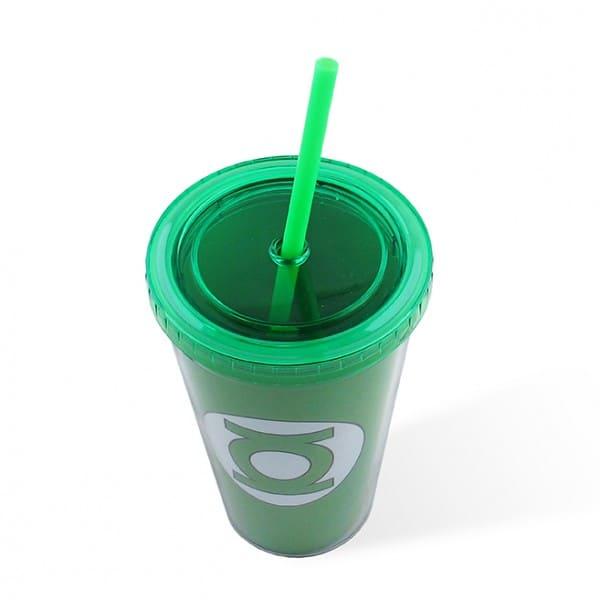 Copo Plastico DC - Lanterna Verde Logo