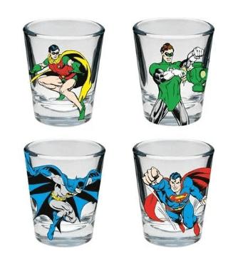 Copo Shot DC - Heróis DC Comics