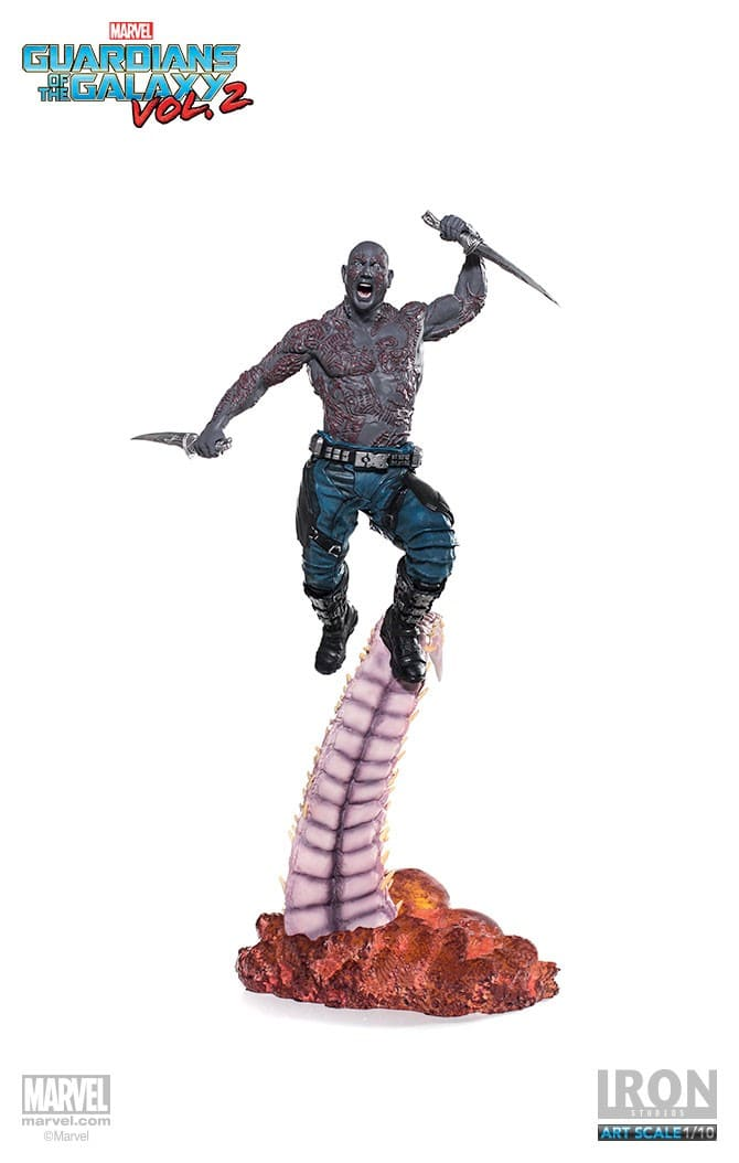 Drax 1:10 - GoG Vol2 - Iron Studios