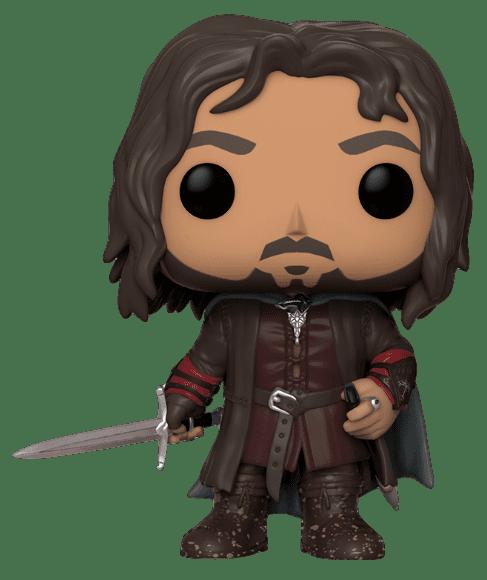 Funko POP! Aragorn - O Senhos dos Anéis (LOTR)