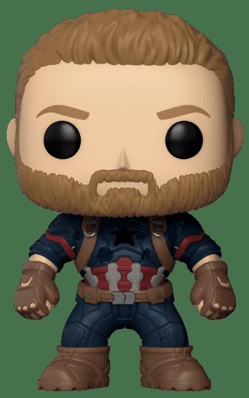 Funko POP! Capitão América - Avengers: Infinity War
