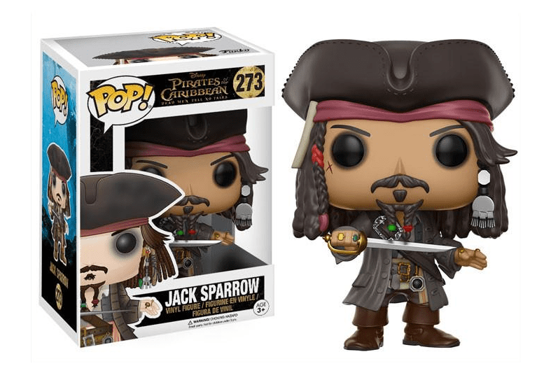 Funko POP! Capitão Jack Sparrow - Piratas do Caribe