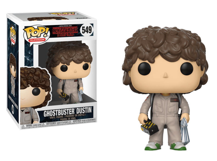 Funko POP! Ghostbuster Dustin - Stranger Things