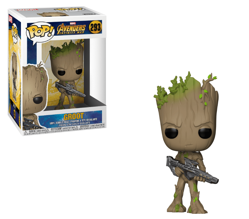 Funko POP! Groot with Blaster - Avengers: Infinity War