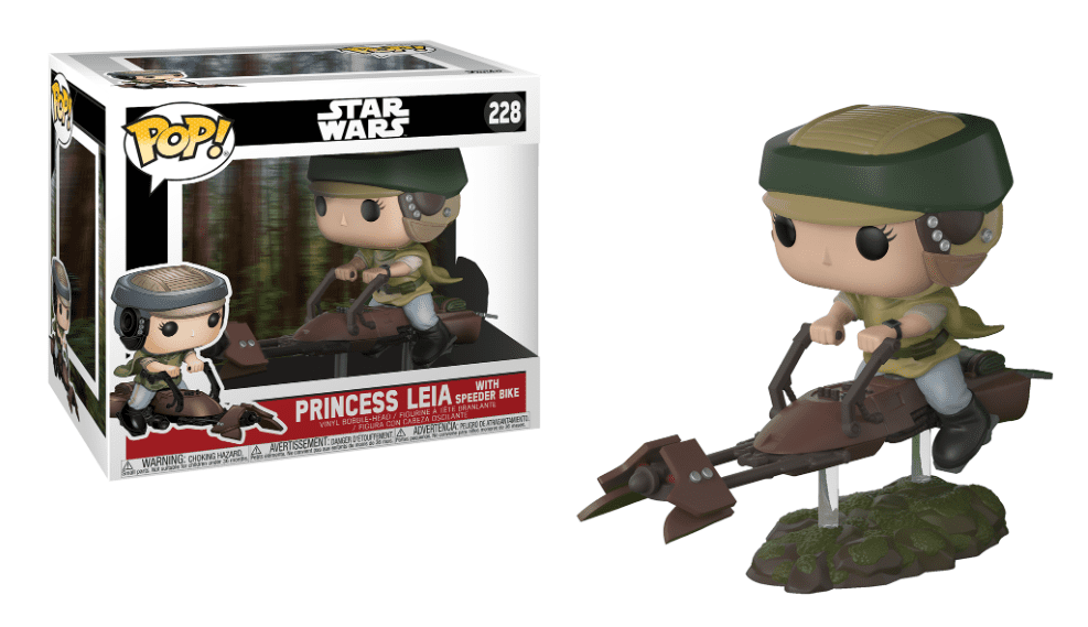 Funko POP! Leia on Speeder Bike - Star Wars Episodio VI