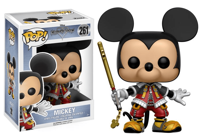 Funko POP! Mickey Mouse - Game Disney's Kingdom Hearts