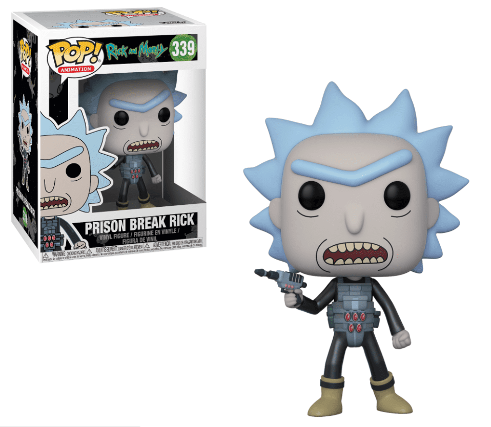 Funko POP! Prison Escape Rick - Rick and Morty