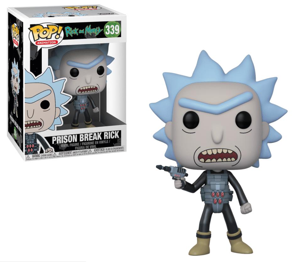 Funko POP! Prison Escape Rick - Rick and Morty