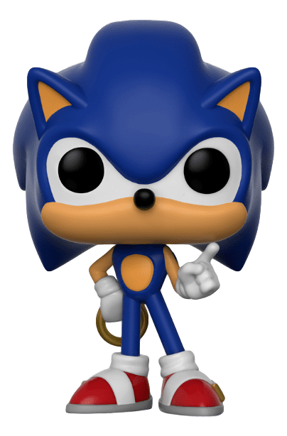 Funko POP! Sonic with Ring - Sonic the Hedgehog