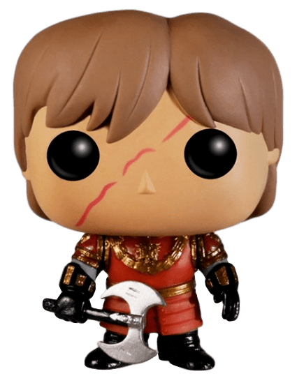 Funko POP! Tyrion Lannister with Scar (In Battle Armor) - Game of Thrones