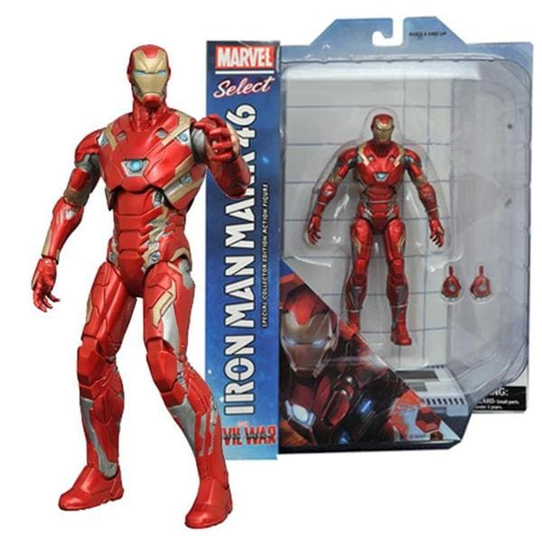 Homem de Ferro Mark XLV: Civil War - Marvel Select