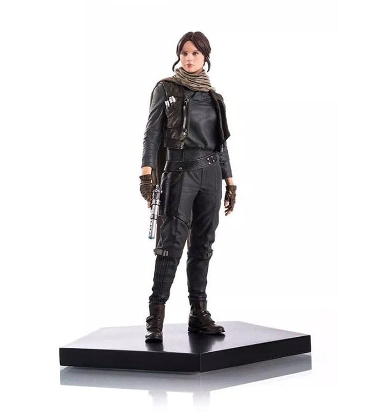 Jyn Erso 1:10 - Rogue One: A Star Wars Story - Iron Studios