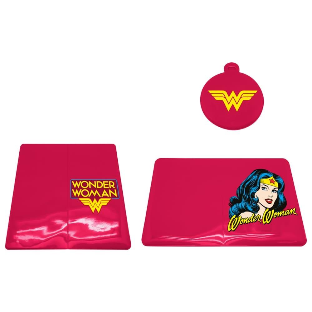 Kit para Viagem DC - Wonder Woman Pink