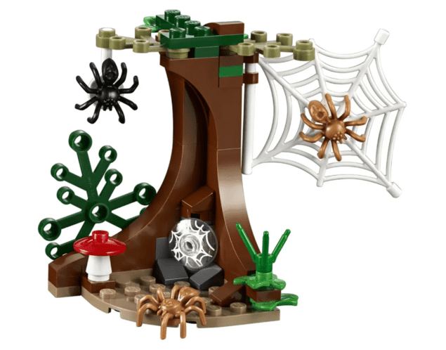 Lego Harry Potter - O Covil de Aragog