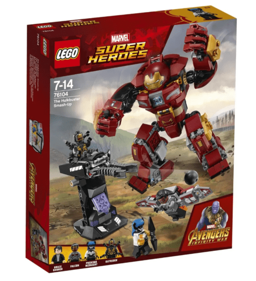 Lego Marvel Avengers Infinity War The Hulkbuster Smash-up