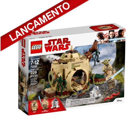 Lego Star Wars A Cabana de Yoda