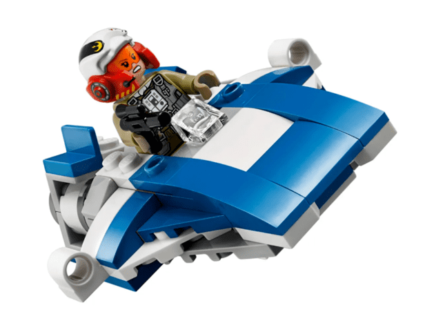 Lego Star Wars A-Wing vs Tie Silencer Microfighters Series 5