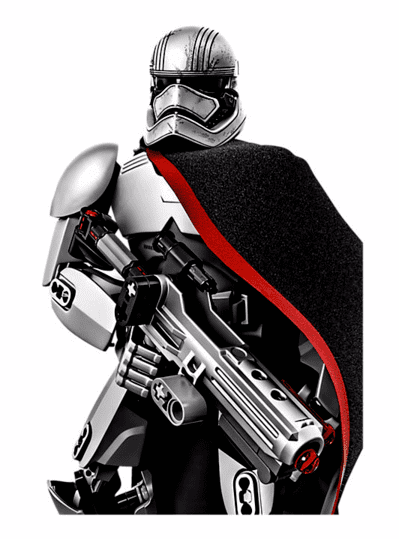 Lego Star Wars Capitã Phasma