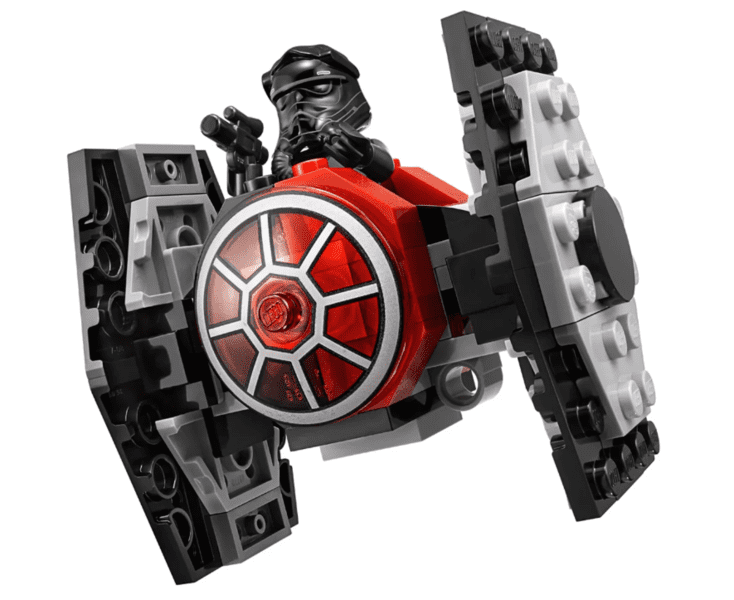 Lego Star Wars First Order Tie Fighter Microfighters Series 5