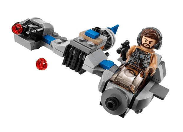 Lego Star Wars Ski Speeder vs First Order Walker Microfighters Series 5
