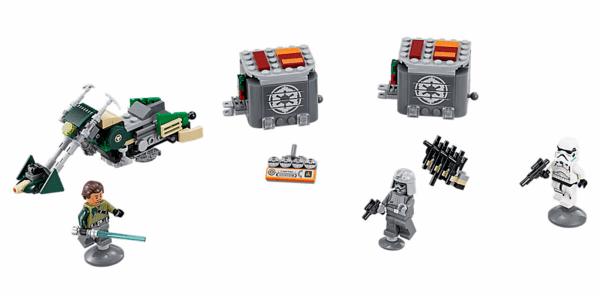 Lego Star Wars Speeder Bike do Kanan