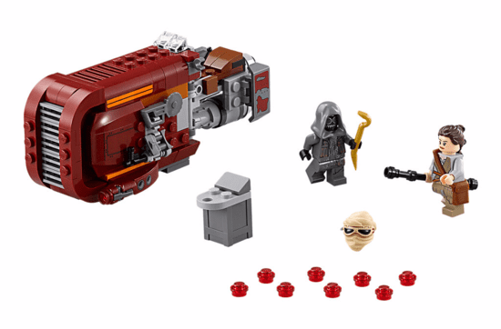 Lego Star Wars Speeder da Rey