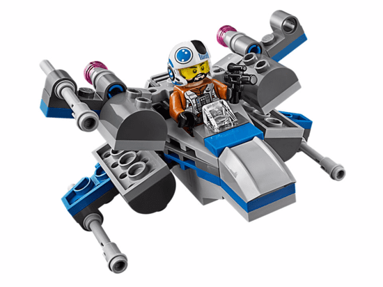 Lego Star Wars X-Wing Fighter da Resistência