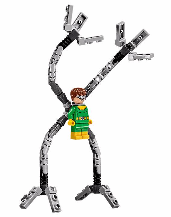 Lego Super Heroes - Homem-Aranha: A Armadilha de Tentáculos de Doc Ock