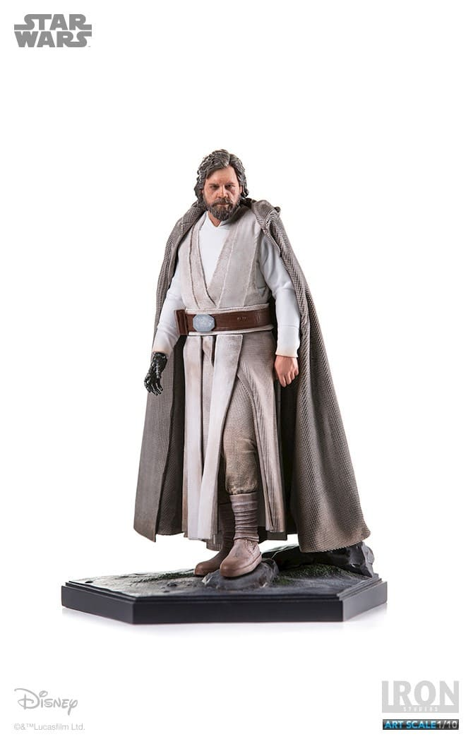 Luke Skywalker 1:10 - Star Wars Episódio VII - Iron Studios