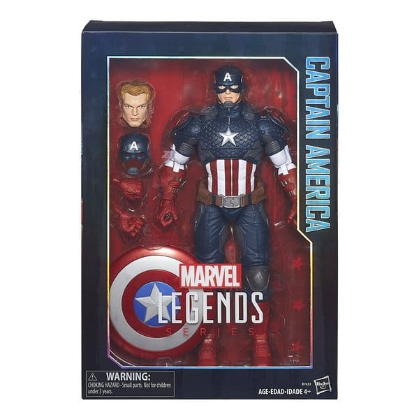 Marvel Legends Series - Capitão América 1:6