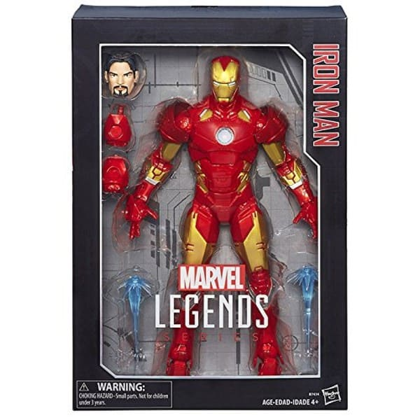 Marvel Legends Series - Homem de Ferro 1:6